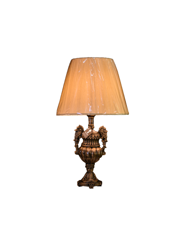 Keita Table lamp - Brown