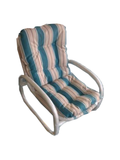 Deovilee Outdoor Chair - Blue and White