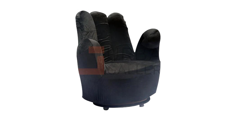 Black Hand Couch