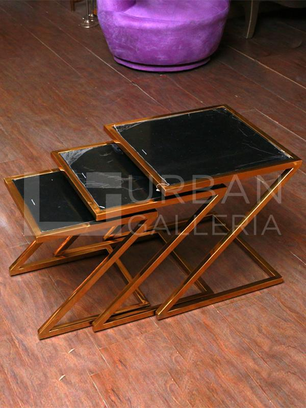 Coleman Nesting Table Set of Three