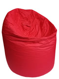 Plain Parachute - Red Bean Bag