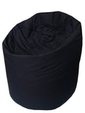 Plain Parachute - Black Bean Bag