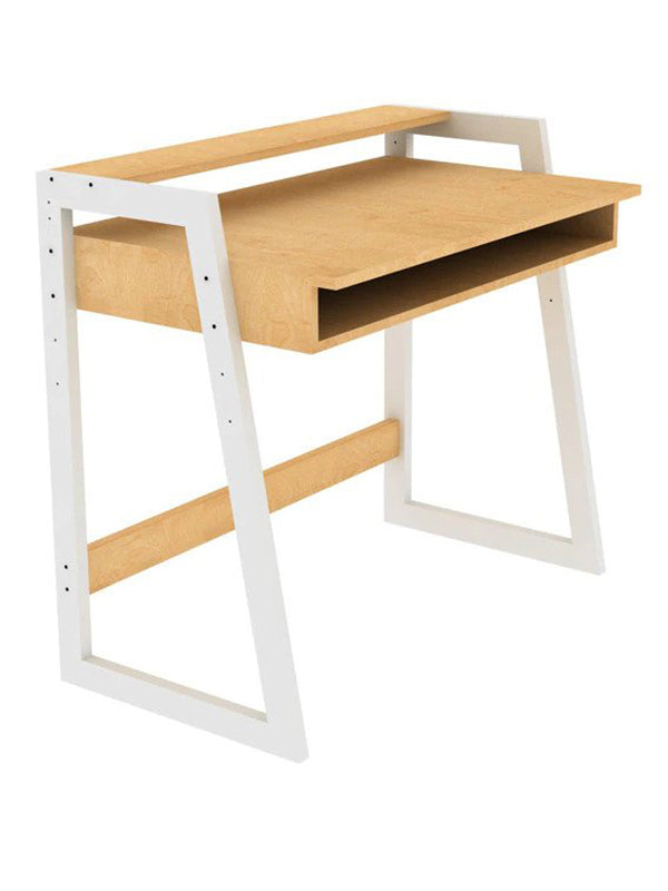Bethpage Infant Desk in Natural & White finish