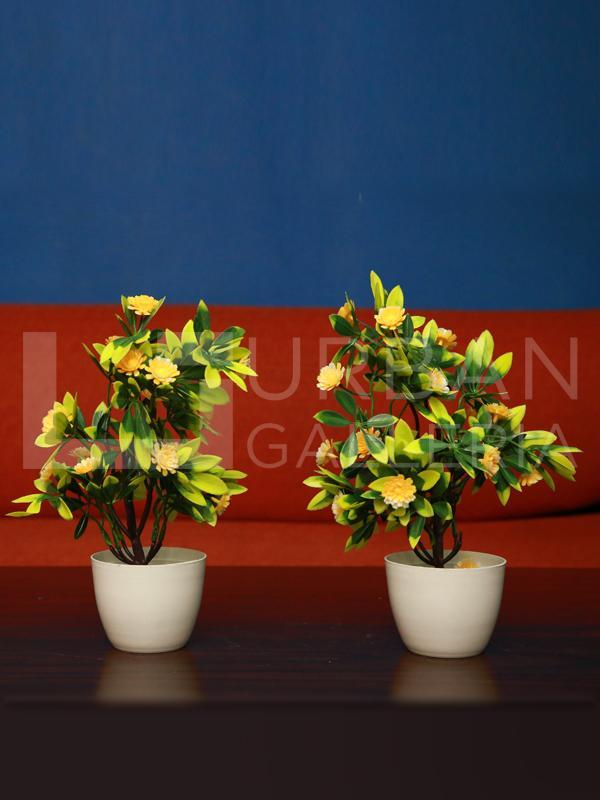 Garner Table Planter Pair