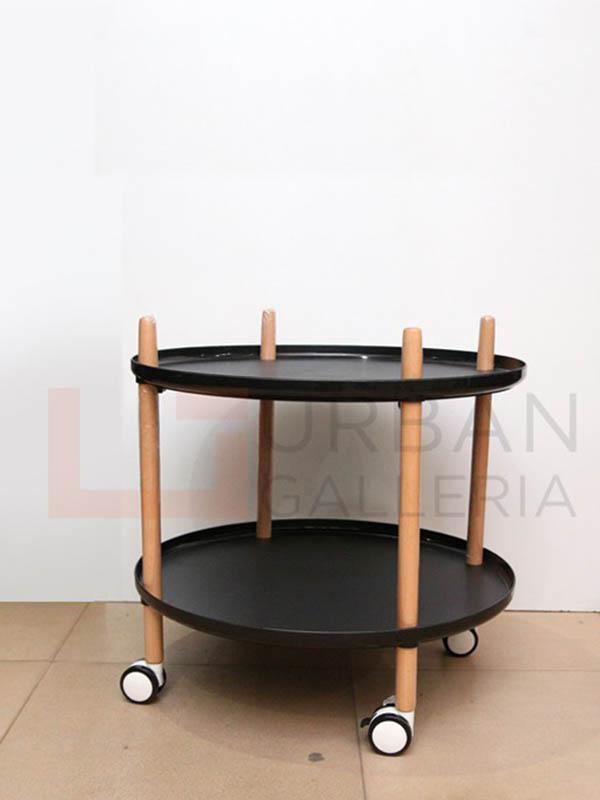 Laureline Round Tea Trolley