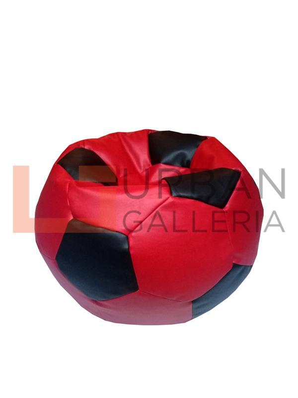 Leatherite Football bean bag
