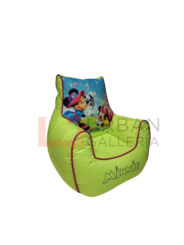 Minnie cartoon bean bag sofa