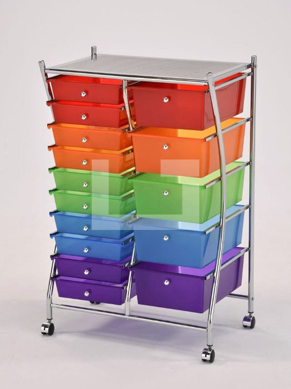 Gaudy Drawers Double Rack