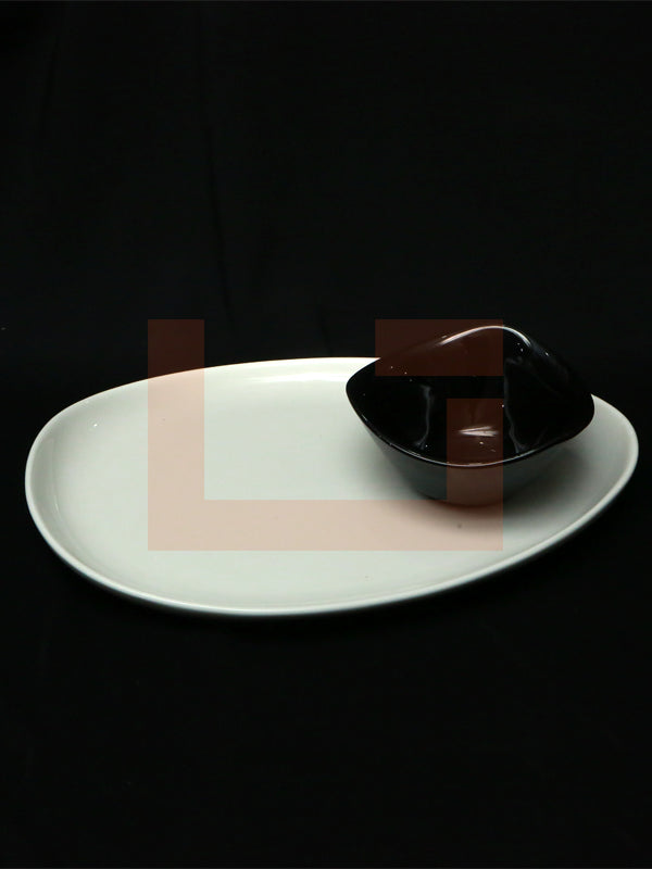 Morte Serving Dish with Bowl