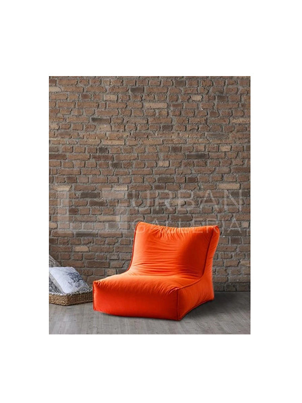 Orange XI Bean Bag Sofa