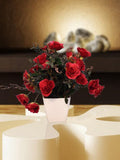 Small Flower planter red