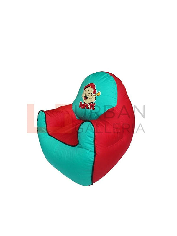 Popaye the sailor kids sofa bean bag