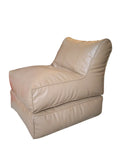 Sofa Cum Bed Leatherite - Off White