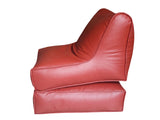 Sofa Cum Bed Leatherite - Red