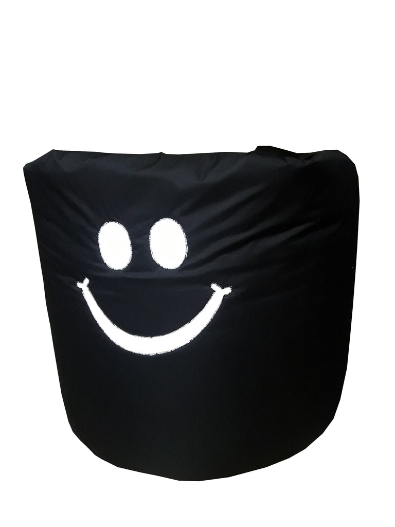 Black Smiley - Bean Bag