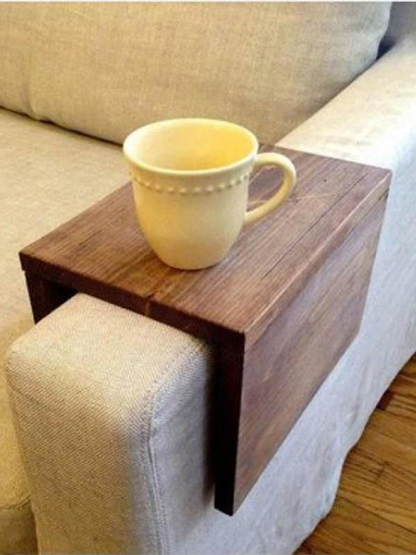 Sofa Arm Rest Cup holder