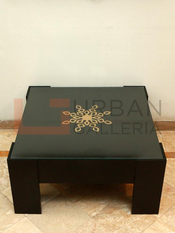 Star Base Motif Coffee Table