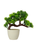 Tilted trunk tree planter