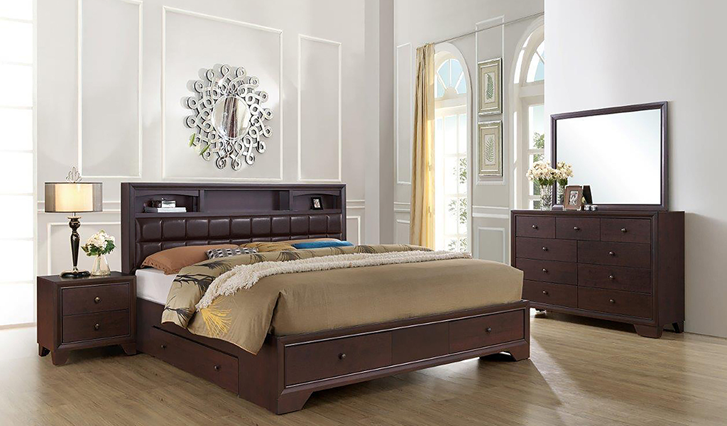 Tranquil King Bedroom Set - The Panache Wedding Package