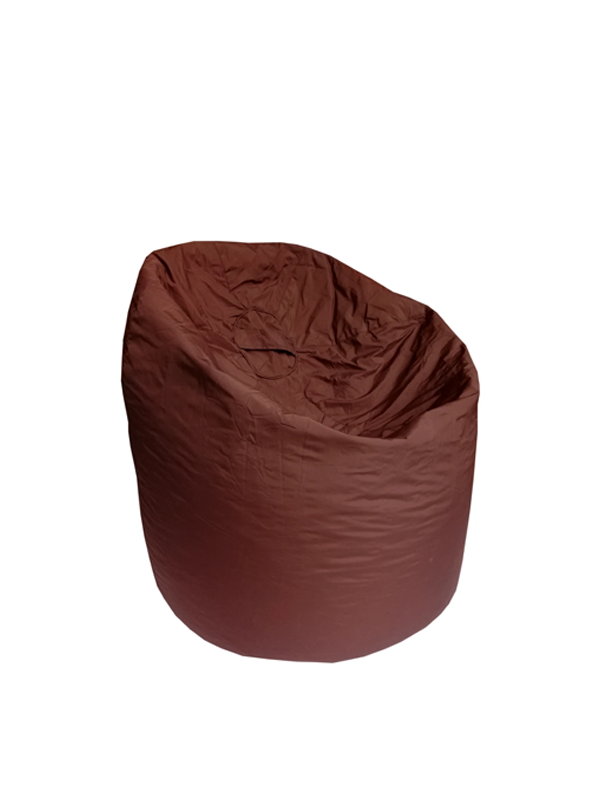 XL Plain Parachute -Brown Bean Bag