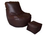 Comfy Leatherite - Dark Brown
