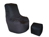 Relaxant Bean Bag - Black