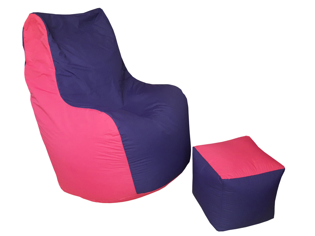 Fruity Bean Bag - Purple