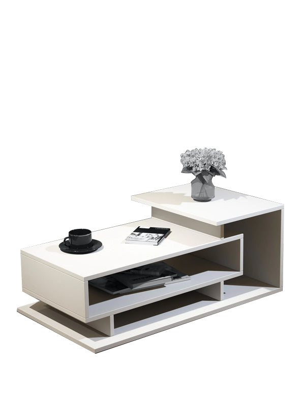 Erica Coffee Table In Frosty White Colour