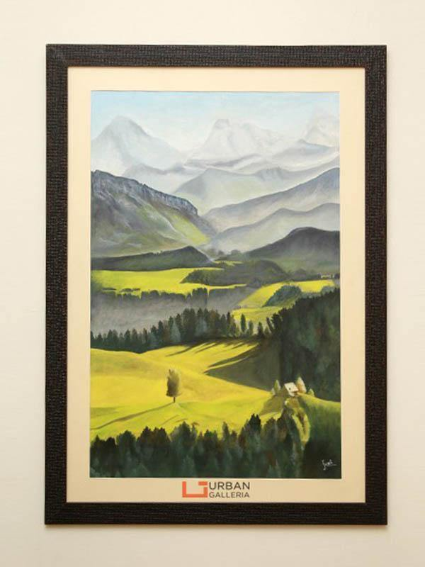 Alps of Switzerland Painting