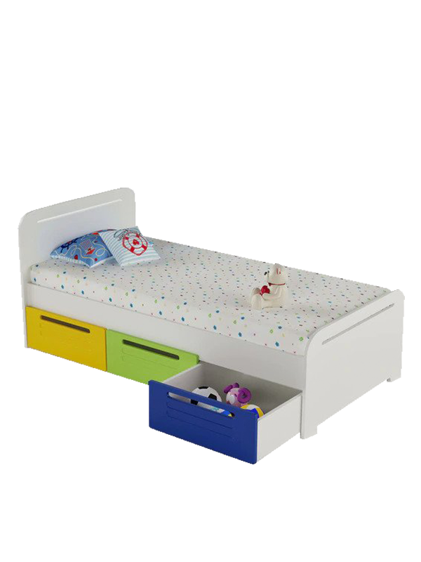 Darrel Bed with Storage