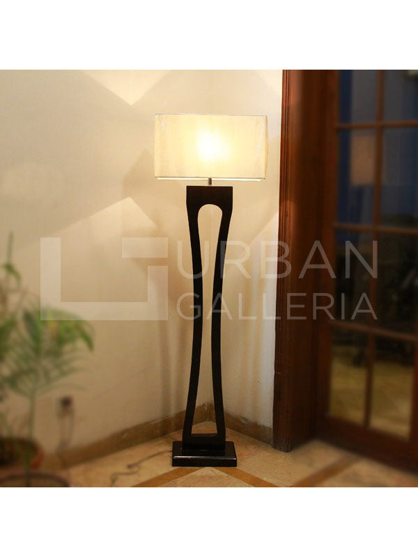 Bi-Concave Floor Lamp