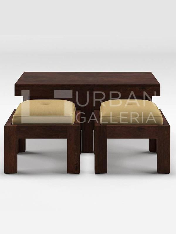 Conan Coffee Table with Stools