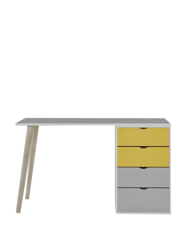 Lamantia Study Table in Yellow colour