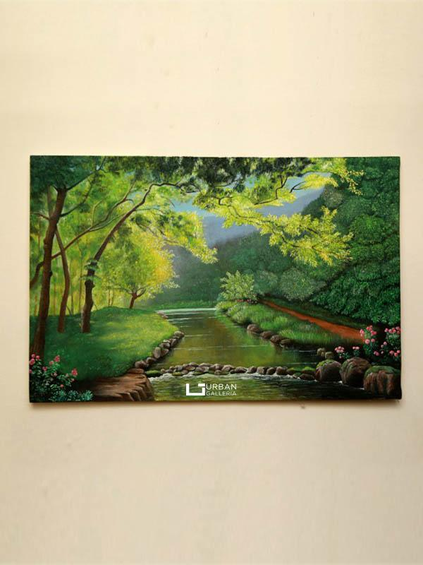 Forest Landscape Painting