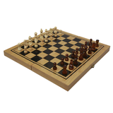 Wooden Chess - Doouble Game