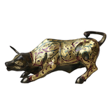 Angry Bull Decorative Figurine