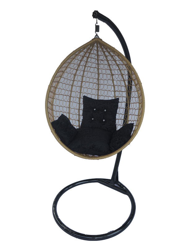 Wicker Pod Swing