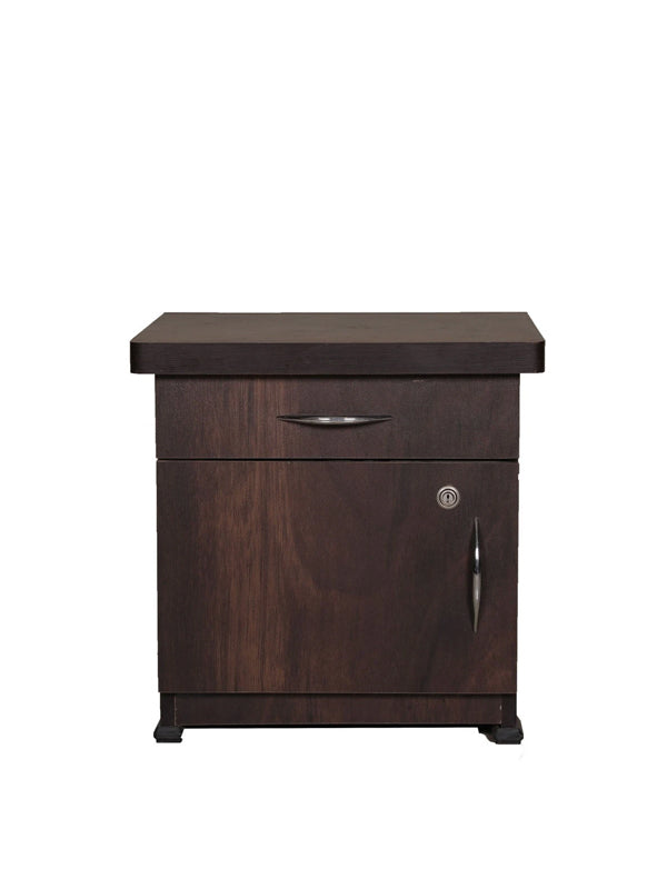 Paula Bed Side Table - Brown