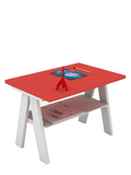 Koerner Activity table in Red