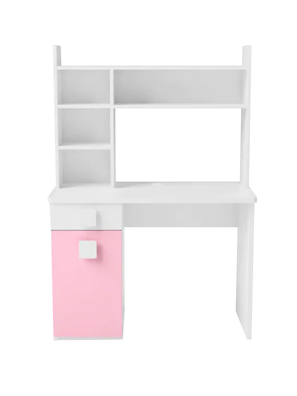 Westerleigh Study Table in Pink Colour