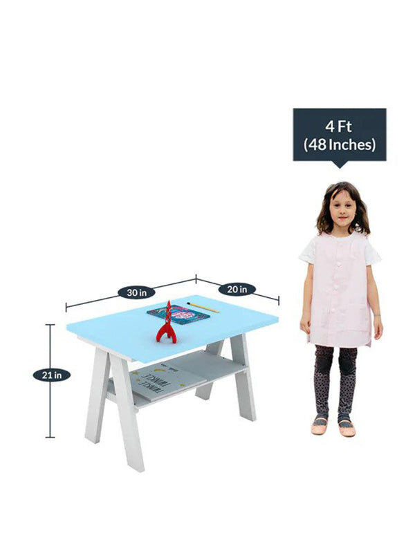 Flack Activity Table and Chair in Blue