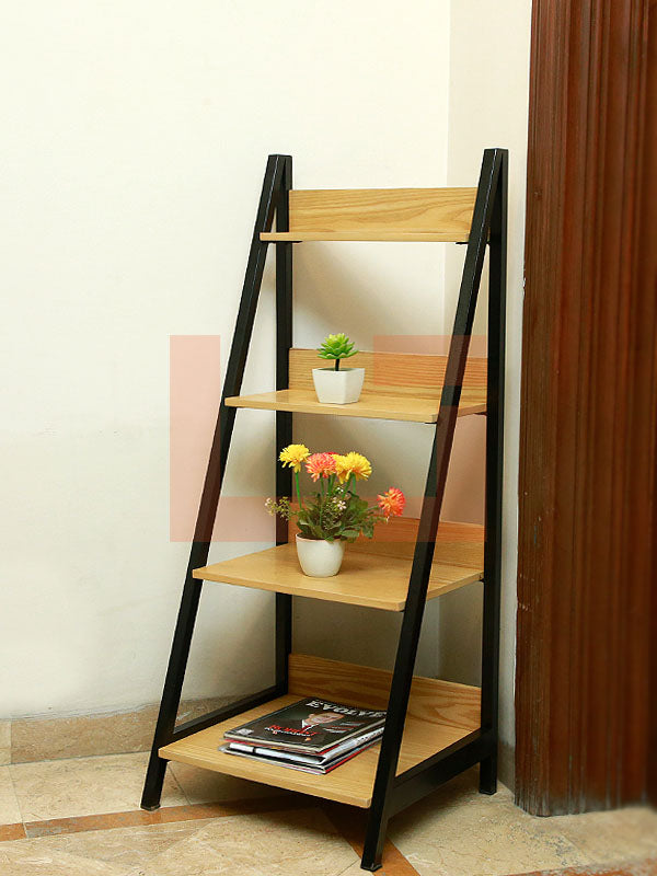 Tread Book Shelf and Rack
