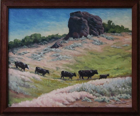 Rustic Oil Painting Frame
