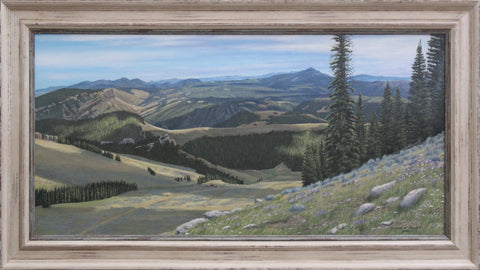 Rustic Frame - Freeze Out Point