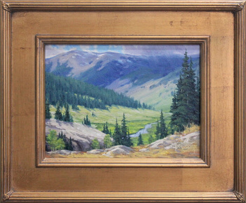 Gold Frame - Somewhere in the Bighorns