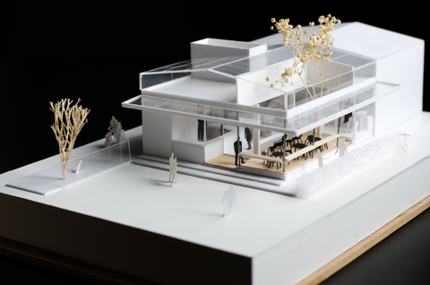 Architectural Model of a Building
