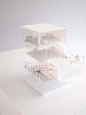 Japanese Style Architectural Model