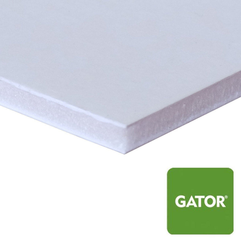 "48"" x 96"" Extra Thick White Gator Board Multi Pack"