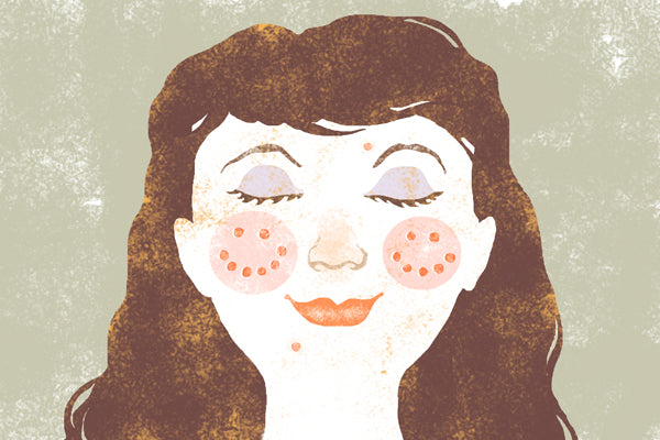 Illustration: Acne is cute