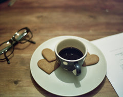 Espresso with cookies